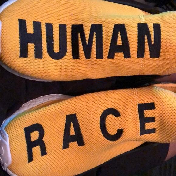 newest 8139c 2adb0 Yellow Human Race Nmd